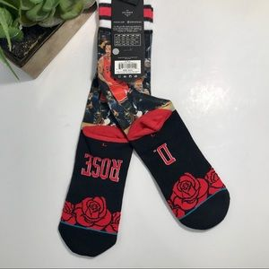 STANCE Derrick Rose Chicago Bulls Socks NWT